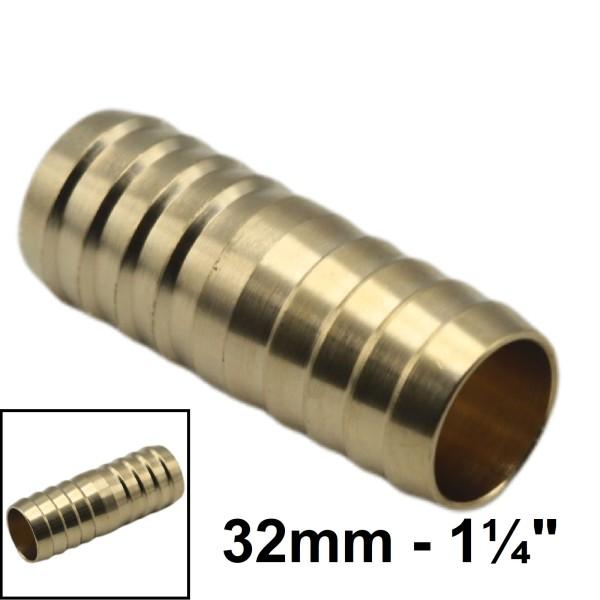 """32mm - 1 1/4"""" Schlauchverbindung Schlauch Verbinder Kupplung Schlauchtülle"""