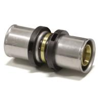 Pressfitting Fitting DVGW TH Profil Verbundrohr Kupplung 16 x 2 - 16 x 2