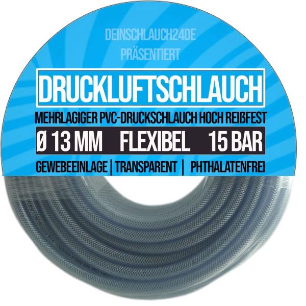 13 x 19 mm Druckluftschlauch Gewebeschlauch Universalschlauch Wasserschlauch PVC